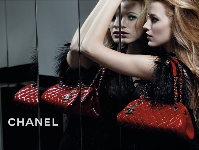 blake lively chanel mademoiselle handbags. quot;Chanel Mademoisellequot; Handbag