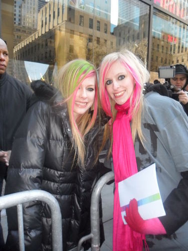 March 8 - Meeting with Fans from Bandaids at Today Show