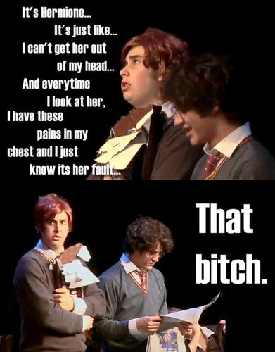 God Hermione...