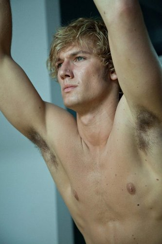 Alex Pettyfer wallpaper containing a pezzo, hunk titled Alex in BEASTLY