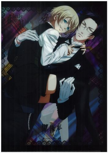 Alois Trancy and Claude Faustus - kuroshitsuji-ii Photo