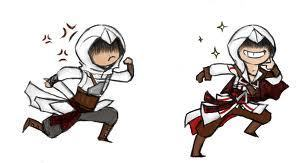 Altair and Ezio - ezio-and-altair Photo