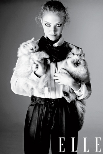 Amanda Seyfried 'Elle' Photoshoot April 2011!