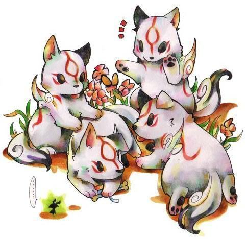 Amaterasu's puppies...?