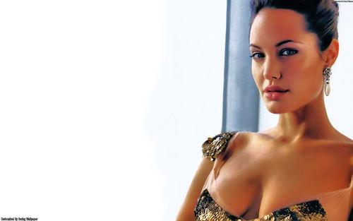 Angelina Jolie kertas dinding