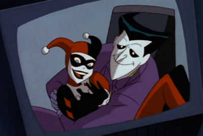 The Joker and Harley Quinn wallpaper titled Animated Series