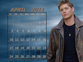 supernatural - April 2011 - Dean (calendar) wallpaper