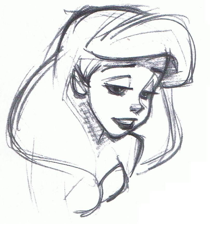 Disney Character Sketches