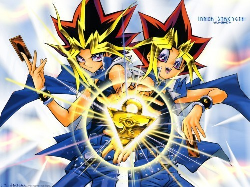 Atem and Yugi