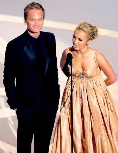 Barney Stinson and Hayden Panettiere