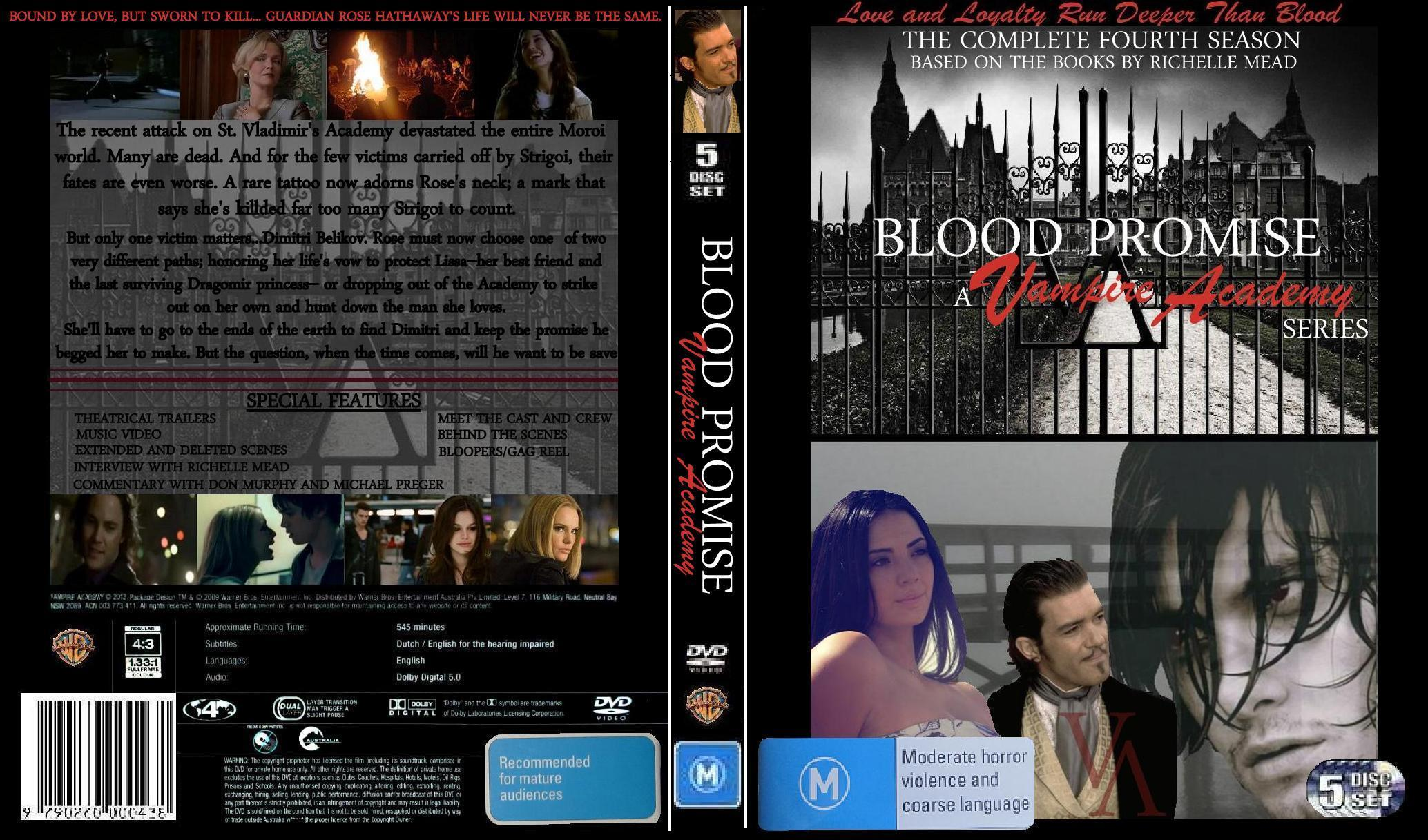 Vampire Academy Dvd Cover Blood Promise Dvd Cove...