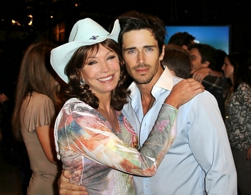 The Bold and the Beautiful fond d'écran called Brandon Beemer & Lesley-Anne Down