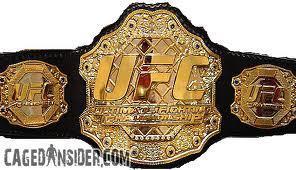 Brocks UFC gürtel