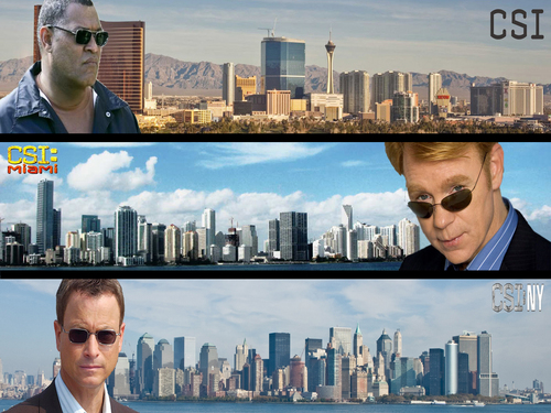 CSI:科学捜査班 Trilogy Skylines (Regular)