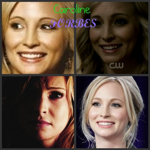 Caroline Forbes collage :)
