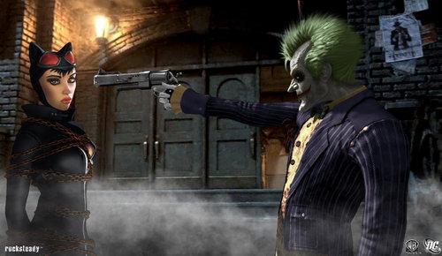 Catwoman vs. Joker