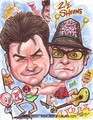 Charlie Sheen Caricature - charlie-sheen fan art