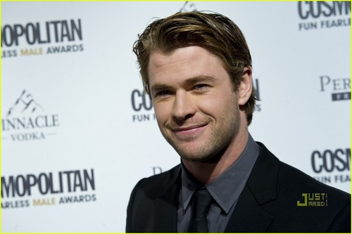 Chris Hemsworth: Cosmopolitan Fun Fearless Male Awards! - chris-hemsworth Photo