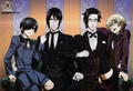 Ciel,  Sebastian , Alois, Claude - black-butler photo