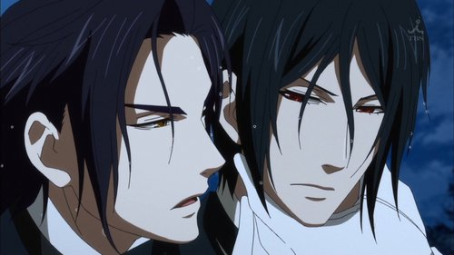 Kuroshitsuji wallpaper titled Claude Faustus and Sebastian Michaelis