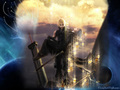 Cloud and dead Kadaj - final-fantasy-vii wallpaper