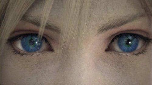 Cloud's eyes