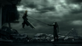 Cloud vs Sephiroth - final-fantasy-vii screencap