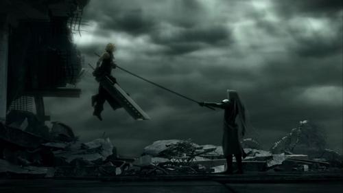 Final pantasiya VII wolpeyper called ulap vs Sephiroth