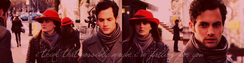 Dan and Blair wallpaper probably with a street and an abattoir called Dan and Blair