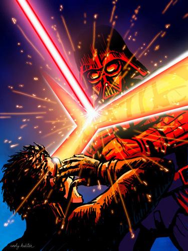 Darth Vader vs Cyclops