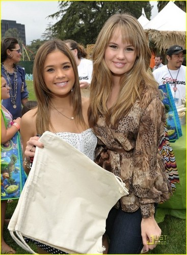 Debby Ryan and Nicole Anderson