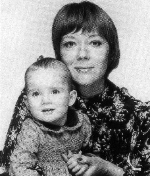 Diana & little Rachael
