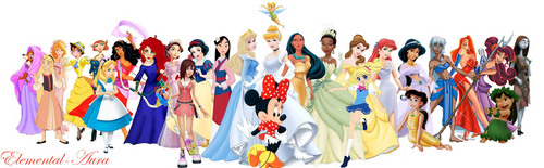disney Princess and Entourage