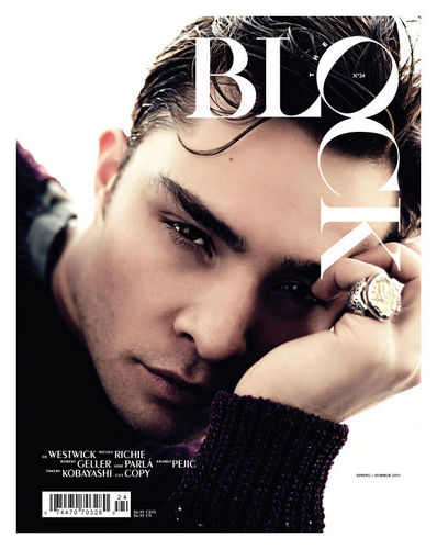 Ed Westwick kwa Steven Pan for The Block Spring/Summer 2011