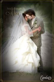 Twilight Series wallpaper possibly containing a bridal gown titled Edward & Bella,Breaking Dawn,Hot Pics