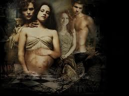 Twilight Series پیپر وال probably containing skin and عملی حکمت called Edward & Bella,Breaking Dawn,Hot Pics