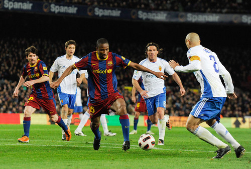 FC Barcelona - Real Zaragoza [La Liga] March 5, 2011