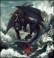 Fishing - how-to-train-your-dragon fan art