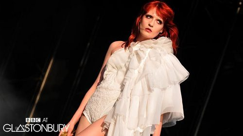 Florence + The Machine karatasi la kupamba ukuta titled Flo