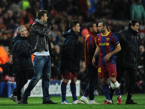 G. Pique (Barcelona - Arsenal)