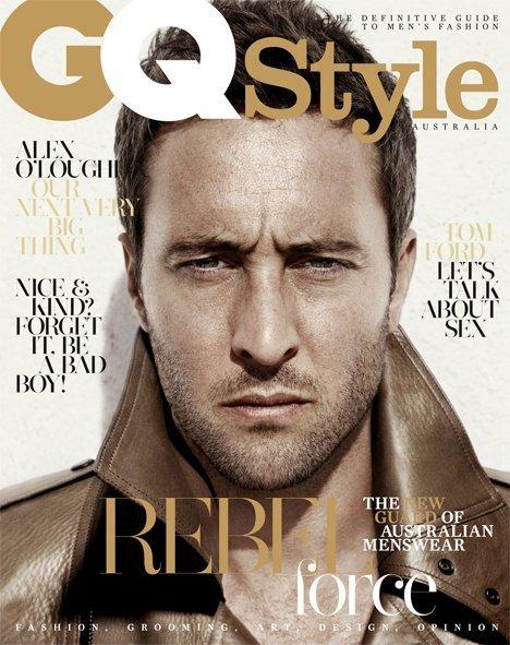 alex o loughlin 2011. GQ Style, March 2011