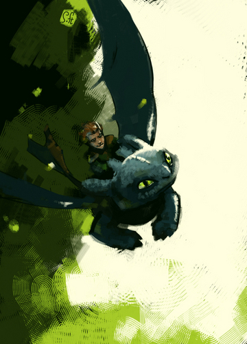 HTTYD - how-to-train-your-dragon Fan Art
