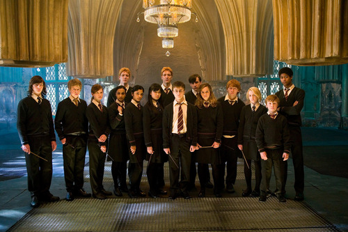 Hogwarts House Rivalry! wallpaper with a business suit, a concert, and a well dressed person titled Harry Potter