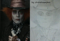 Hatter draw - alice-in-wonderland-2010 fan art