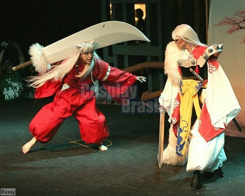 犬夜叉 & Sesshomaru Cosplay Brazil