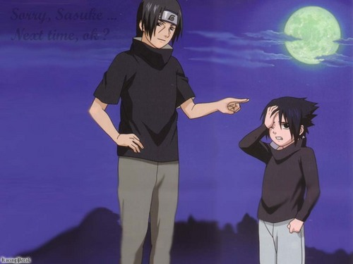Uchihas wallpaper called Itachi and Sasuke
