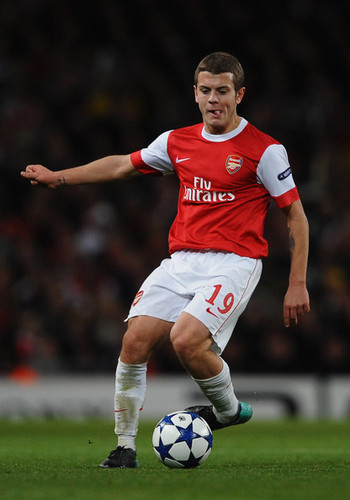 J. Wilshere playing for Arsenal