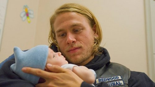 "Jackson ""JAX"" Teller wallpaper probably containing a neonate and a portrait titled JAX & Able"