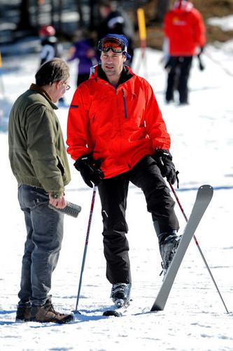 Jon Hamm Filming in Warwick