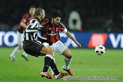 Juventus-Milan 0-1, Serie A TIM 2010/2011.